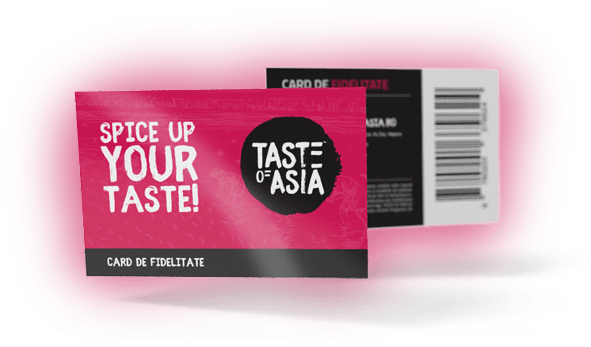 Card de fidelitate Taste of Asia