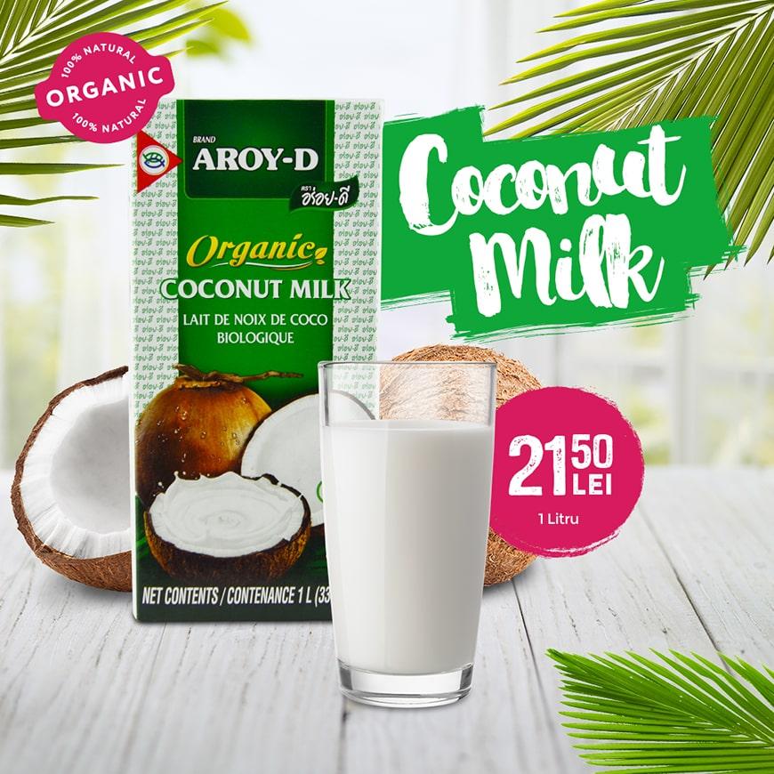 Oferta Organic Coconut Milk Taste of Asia