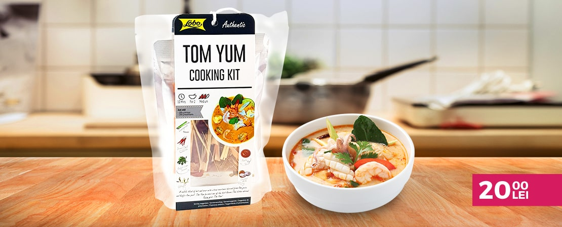 Oferta Tom Yum Cooking Kit Taste of Asia